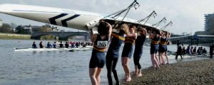 CCRC Women Lifting Boat at WeHoRR